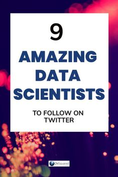 9 Amazing Data Scientists To Follow On Twitter. Check them out! #datascience #datascientists #learndatascience #datascienceforbeginners Music Recommendations, Science Articles, Arizona State University, Digital Tv, Business Intelligence, Data Science, Big Data, Data Visualization, Machine Learning