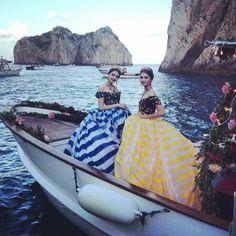 #DolceGabbana in the islands of Capri