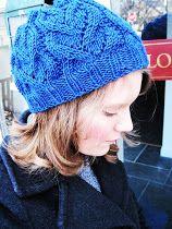 Sara Kay's Knit and Crochet Notebook: Heart Vines Beret ~ A Free Knitting Pattern