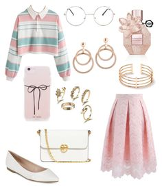 """""""Cute"""" by fashionstyleideas4now on Polyvore featuring BCBGeneration, Tory Burch, Chicwish and Nasty Gal"""