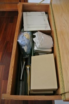 How to Organize a Hope Chest - easily.