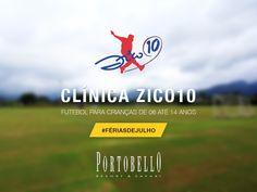 A Clínica Zico10 vai estar noPortobello Resort  J durante as férias de Julho!  Traga seu filho para viver esse momento único ;) #Futebol #LugarDeSerFeliz  Período de 15/07 - 18/07 | 20/07 - 25/07 | 27/07 - 01/08  Faça sua reserva AGORA → http://www.portobelloresort.com.br?utm_content=buffer04e50&utm_medium=social&utm_source=pinterest.com&utm_campaign=buffer