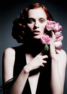 Karen Elson. Photography by Daniele Duella and Iango Henzi for Muse Spring 2011.