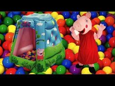 Peppa Pig Playland is Gia new Toy. This blow up to about 4 ft tall and comes with 20 ball and forms a mini ball pit. There is a opening in the middle which allows the kid to peek through. Gia had a blast playing with it. Only on GiaTube. Welcome to the Peppa Pig World. Gia loves Peppa pig toys and Peppa pig Viddeos. She love to do Peppa Pig Toys Reviews. She desires to visit the Peppa Pig Park.  #GiaTube #Fun #FunnyMoments #cuteness #happiness #FunnyVideos