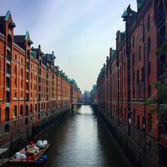 """Speicherstadt """"City of Warehouses"""" in Hamburg Germany    Click on the photo to discover the most incredible destinations with us :)"""