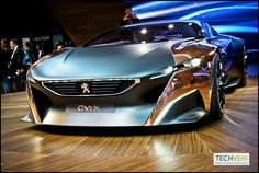 "Peugeot Onyx - based on a carbon fibre ""monolithic"" structure"