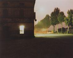 Fidenza, 1985, della serie Il profilo delle nuvole. - (Luigi Ghirri, Collezione privata, Bergamo)