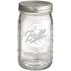 12,99 € 4Ball® Marmeladengläser mit Deckel, Obst-Design & Weiter Öffnung, 945Ml in gläser und flaschen bei Lakeland Deutschland