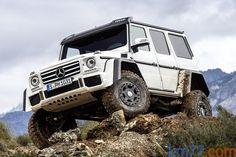 Mercedes-Benz Clase G G 500 4x4² 421 CV G 500 4x4²  Todo terreno Exterior Frontal-Lateral 5 puertas