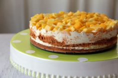 Frozen Mango Cream Cakes