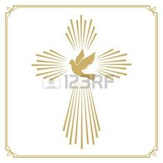 Flying Christian Cross Vector Images (over Gold Embroidery, Embroidery Patterns, Machine Embroidery, Christian Flag, Altar Design, Cross Symbol, Première Communion, Easter Cross, Stencil Templates