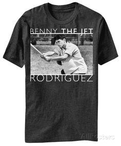 The Sandlot - Benny the Jet T-Shirt awesome he is so cute Baseball Movies, Baseball Shirts, Tee Shirts, Baseball Mom, Softball, Sandlot Benny, The Sandlot, Benny The Jet Rodriguez, No Crying In Baseball