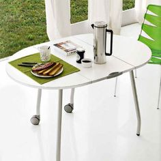 Olivia Flash Folding Table by Calligaris