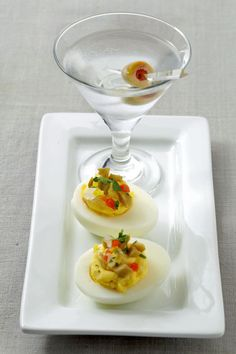 Dirty Martini Deviled Eggs | 8 Crazy Ways To Make Deviled Eggs