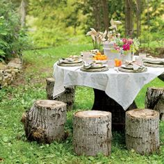 Summer Party Inspiration: The Kids' Table