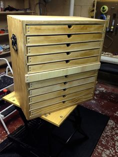 Tool Chest with Trays - Woodworking Talk - Woodworkers Forum-SR
