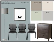 Love this mood board for a Veterinarian Clinic I' working on. It's a virtual consultation for Arkansas.