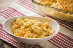 Baked Macaroni and Cheese. I think this is the Friendsgiving 2013 winning recipe!