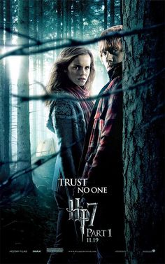 "Harry Potter 7 part 1 - just because I like this poster. ""That's life, I suppose..."""