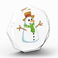 Cutest Christmas snowman