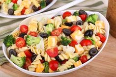 Easy Vegetable Gluten Free Pasta Salad: http://glutenfreerecipebox.com/easy-vegetable-gluten-free-pasta-salad/