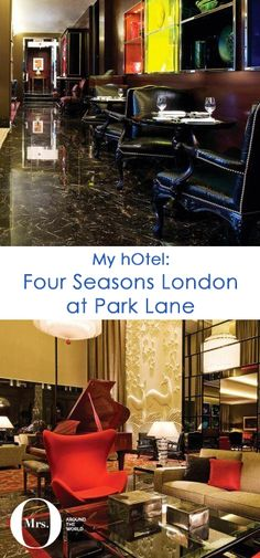 The Four Seasons London at Park Lane is one of my favourite hotels in London - so much so, it is where I have my London office. Well, not really - what I mean by this, is that it is the place that I choose to have business meetings and the occasional after-work cocktail.