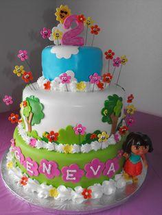 Cake Design Dora L Exploratrice : 1000+ images about Dora cake ideas on Pinterest Dora ...
