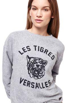 Topshop 'Versailles' Sweatshirt
