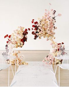 Whimsical Modern Wedding Ceremony Arch with Dramatic Colors wedding arch Trending: Mustard Yellow Modern Boho Style Wedding Ceremony Ideas, Ceremony Decorations, Wedding Trends, Wedding Designs, Wedding Aisles, Church Decorations, Wedding Backdrops, Wedding Ceremonies, Wedding Games