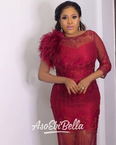Find the best aso ebi styles and collections to tryout on your next wedding. Look good always and standout whenever whereever you are. Aso Ebi Lace Styles, African Lace Styles, Latest Aso Ebi Styles, Lace Dress Styles, Ankara Styles, African Wear Dresses, Latest African Fashion Dresses, African Attire, Ankara Fashion
