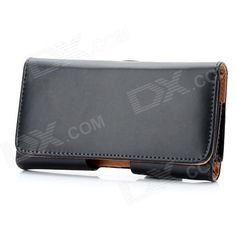 Quantity: 1 Piece; Color: Black; Material: PU Leather; Compatible Models: Nokia Lumia 920; Other Features: Protects your cell phone from scratch, dust and shock; With belt clip for easy carrying; Packing List: 1 x Protective case with belt clip; http://j.mp/1lkmauP