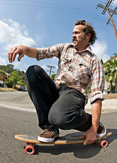 Jason Lee- After seeing this picture of him, my admiration just sky rocketed. He is amazing.