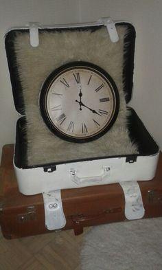 Kello matkalaukussa