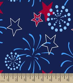 Fireworks Background, Background Diy, Diy Sewing Projects, Joanns Fabric And Crafts, Fabric Online, Easy Drawings, Craft Stores, 4th Of July, Printing On Fabric