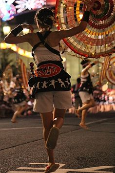 Discovering Tohoku ! ~情熱の東北四大祭り体験レポ【山形花笠まつり】(ロケ地:山形市七日町通り)   http://klastyling.com/2015/07/18446/  Report & Photo by Teiko Nozaki