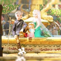 Discovered by Reina Elsa. Find images and videos about disney, frozen and jack frost on We Heart It - the app to get lost in what you love. Jack Frost Und Elsa, Elsa E Jack, Jelsa, Princess Anna Frozen, Disney Frozen Elsa, Arte Disney, Disney Love, Disney Stuff, Elsa Baby