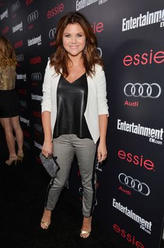 Tiffani Thiessen  - The Entertainment Weekly Pre-SAG Party Hosted By Essie And Audi - Red Carpet