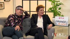 Lea De Laria and Kate Mulgrew are two of the biggest stars of the Netflix dramedy Orange is the New Black. Evoke.ie flew to Paris for an exclusive interview with the pair who play Big Boo and Red in the cult online series. Mulgrew, who plays the Russian Red is of distinctly Irish origins and