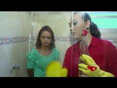 como limpar o box do banheiro - YouTube