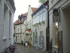 Oldenburg, Germany Historical Shopping District