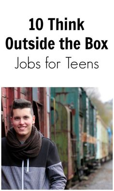 Having trouble thinking of ways to make money? Here are ten outside the box ideas for teen jobs.