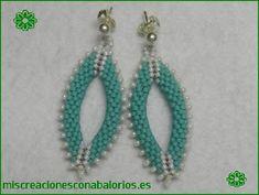 138c3a364cde www.miscreacionesconabalorios.es  Tutorial pendientes ovalados. Pendiente  Ovalado