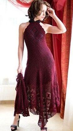 Elegant crochet women summer dress and cardigan by AsDidy on Etsy, $ ...