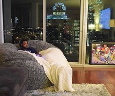 A cloud of comfort built to support the gamer, movie-watcher, and professional napper in all of us. #Lovesac