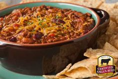 Easy Ground Beef Chili - smoky, savory and perfect for a chilly game day