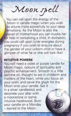 Magick Spells: Moon #Spell.  ✯ Visit lifespiritssocietyofmagick.com for love spells, wealth and prosperity spells, healing spells, beauty spells,  Wiccan, Voodoo, Hoodoo, root worker and LOA info.