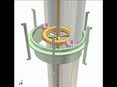 ▶ Transmission between two coaxial shafts separated by a tube 3 - YouTube