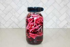 Easy Lacto-Fermented Beets and Turnips