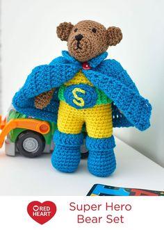 Super Hero Bear Set