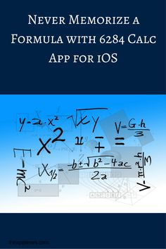 Check out the handy iOS app 6284 Calc that is designed to help you solve math…